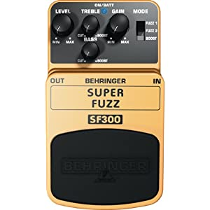 BEHRINGER SF300 SUPER FUZZ