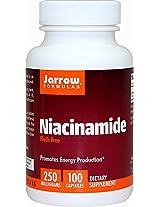Jarrow Formulas, Niacinamide (Vitamin B3), 250 mg, 100 Capsules