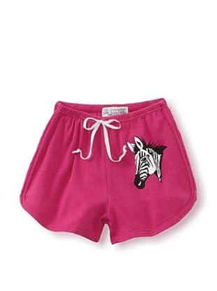 LA Lounge Girl's Zebra Shorts