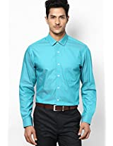 Green Full Sleeve Formal Shirt Peter England