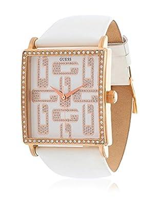 Guess Reloj de cuarzo Woman Blanco 39 mm