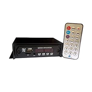 24A-Samcon car stereo with USB/MMC aux option with inbuilt Fm
