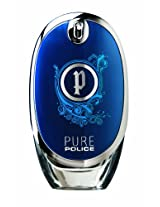 Police Pure Pour Homme EDT for Men, Blue, 75ml