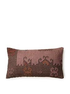 La Boheme Over Dye Pillow (Pink/Grey)