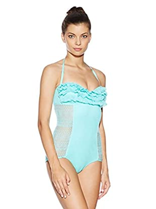 Juicy Couture Badeanzug Prima Donna (mint)