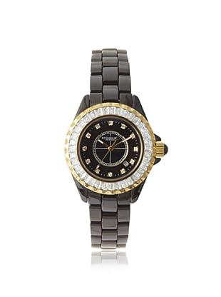 Stuhrling Original Women's 530S2.113OB1 Glamour III Black Ceramic Watch