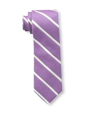 Gitman Brothers Men's Woven Diagonal Stripe Tie, Purple