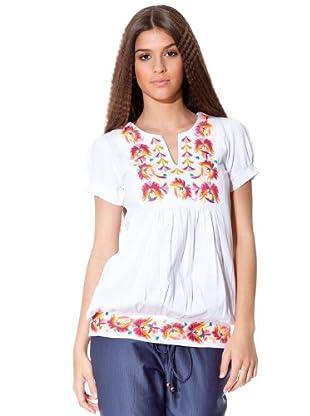 Flamenco Camiseta Constanza (blanco)