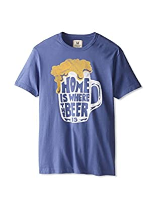 Tailgate Clothing Company Men's Home Is Where The Brew Is Crew Neck T-Shirt
