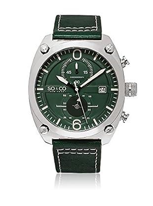 SO & CO New York Uhr mit japanischem Quarzuhrwerk Man GP16115 44 mm