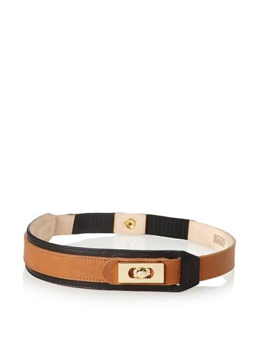 Be&D Women's Stevie Classic Turnlock Belt (Honey Bisque)
