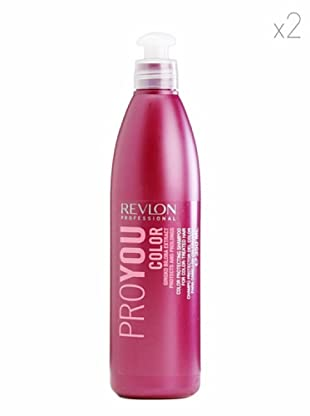 Revlon  Set 2 Pro You Color Champús Color Blanqueado 350  ml