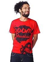Attabouy Bongwale Babaji Mens T-Shirt-Red