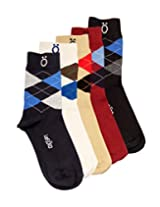 Lefjord Cotton Enriched Premium Men'S Socks Combo - Pack of 5