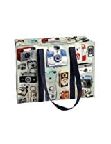 Blue Q Cameras Shoulder Tote
