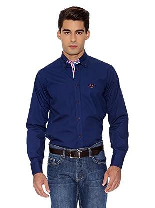 La Española Camisa Fitted (Azul Marino)