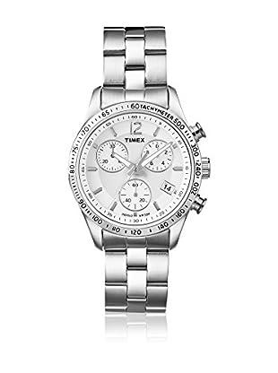 TIMEX Reloj de cuarzo Woman Chronograph Plateado 36 mm