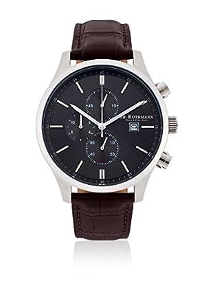 Joh. Rothmann Reloj con movimiento cuarzo japonés 10030028 Marrón Oscuro 42.5 mm