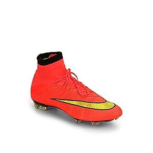 Mercurial Superfly Fg Orange Football Shoes