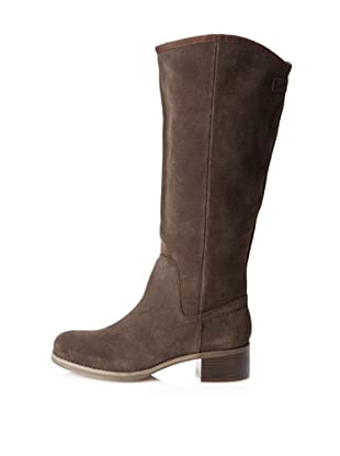 Calvin Klein Jeans Women's Fay Knee-High Boot (Dark Brown)