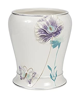 Creative Bath Garden Gate Wastebasket, Lilac