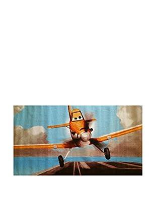 Disney Teppich Disney A.L. Planes himmelblau/mehrfarbig 80 x 140 cm