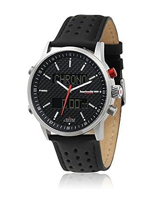Lambretta Reloj con movimiento Miyota Man 2112bla 46 mm