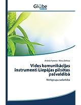 Vides Komunik Cijas Instrumenti Liep Jas Pils Tas Pa Vald B