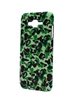 Fonokase Case for Samsung Galaxy J7 J 7 Army Series Hard Back + Screen Guard