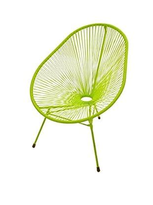 Jeffan Scoop Side Chair, Green