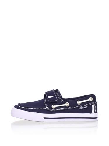 Nautica Little River Boat Shoe (Toddler/Little Kid/Big Kid) (Navy)