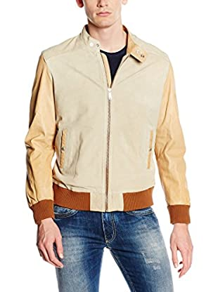 7 For All Mankind Lederjacke Baseball