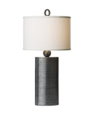 Allison Davis Reflection Table Lamp, Pewter
