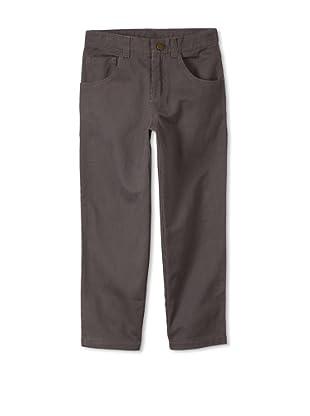 Monster Republic Boy's Pinstripe Pant (Grey)