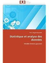 Statistique Et Analyse Des Donnees