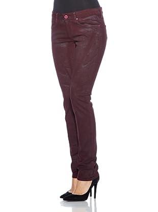 Cross Jeans Pantalón Scarlet (Vino Oscuro)