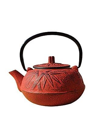 Old Dutch International Cast Iron 20-Oz. Osaka Teapot, Red