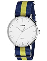 Timex Weekender Fairfield Analog White Dial Unisex Watch - TW2P90900AA