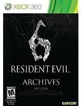 Resident Evil 6 Archives (Xbox 360)