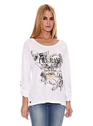Pepe Jeans London Camiseta Katy (Blanco)