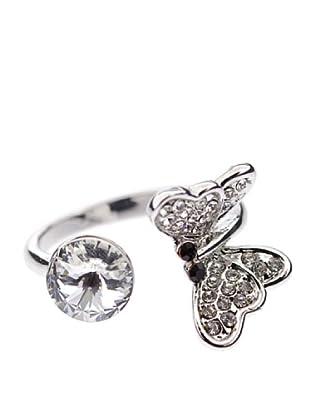 MUSAVENTURA Anillo Butterfly (Transparente)