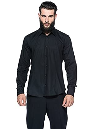 Romeo Gigli Milano Camisa (Negro)