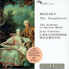 輸入盤CD クリストファー・ホグウッド指揮/アカデミー・オブ・エンシェント・ミュージック W.A.モーツァルト:交響曲全集(廉価版Box 19枚組)のAmazonの商品頁を開く