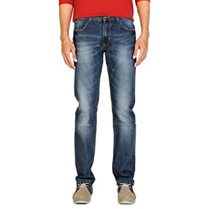 Peter England Casual Slim Fit Cotton Jeans
