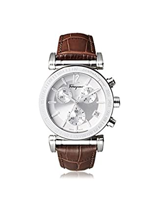 Salvatore Ferragamo Men's FP1910014 Salvatore Steel/Leather Watch