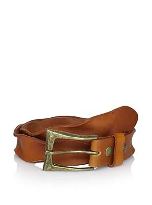 Bed Stu Women's Tamera Twisted Leather Belt (Tan)