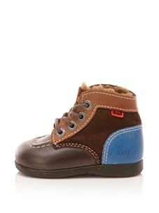 Kickers Kid's Babyski Boot (Toddler) (Dark Brown)