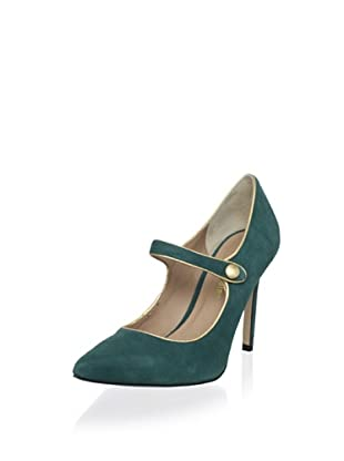 Pour La Victoire Women's Case Mary-Jane Pump (Emerald)