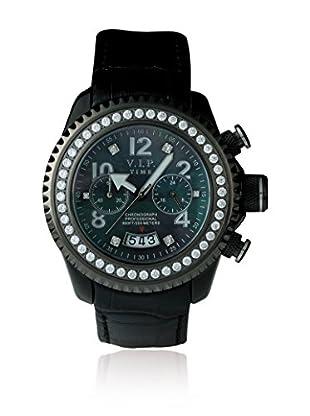 Vip Time Italy Uhr mit Japanischem Quarzuhrwerk VP8001BS_BK schwarz 43.00  mm