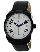 Fastrack OTS Sports Analog Silver Dial Men's Watch - 9463AL01